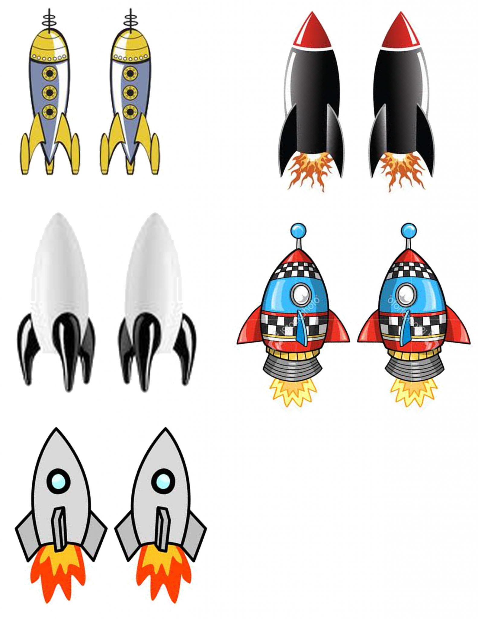 Diy Spécial Espace : Des Fusées À Propulser À L'aide D'une destiné Fusée À Imprimer