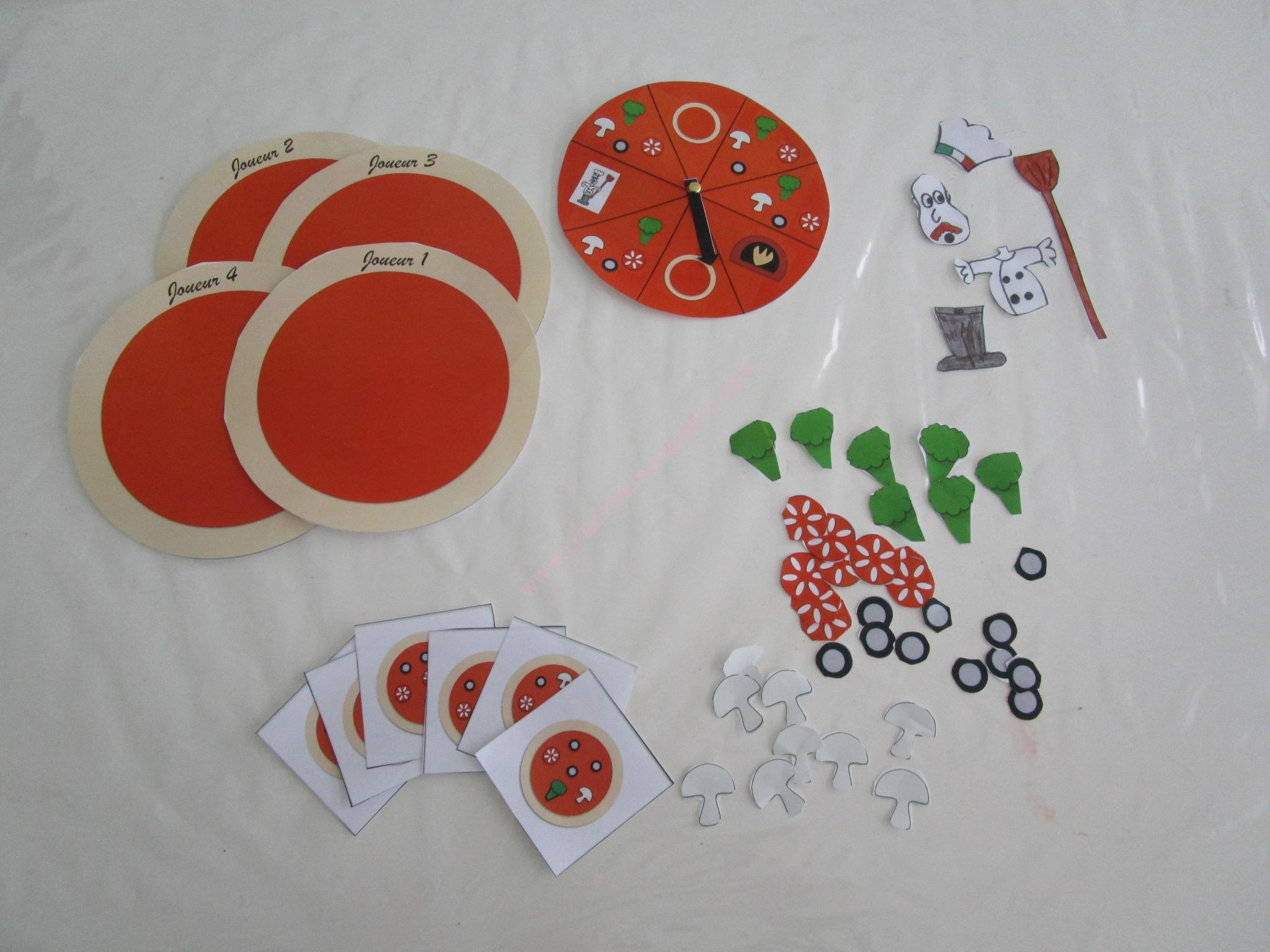 Diy: Un Jeu De Société À Imprimer Pour Jouer Au Petit intérieur Jeux Ludique Pour Enfant