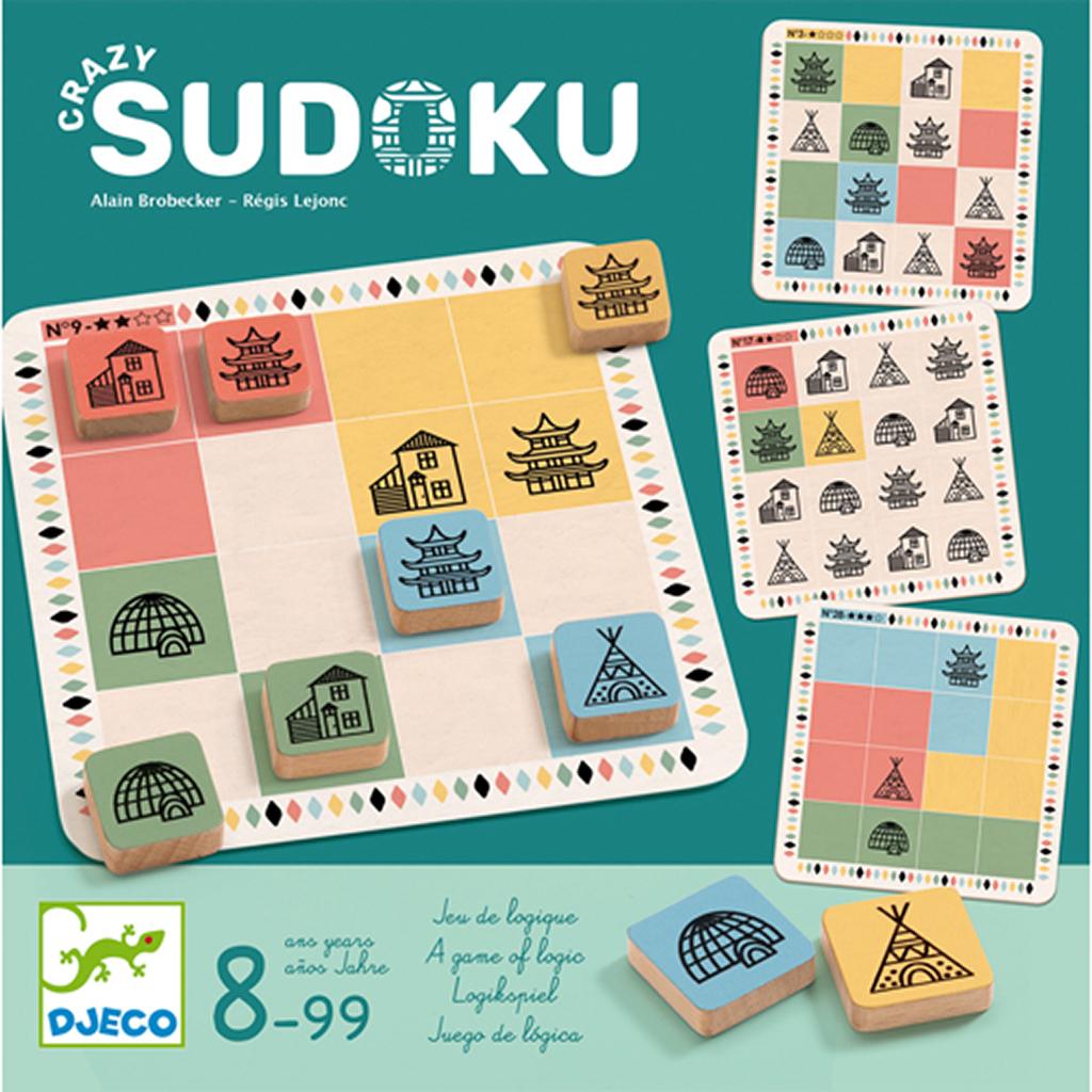 Djeco - Crazy Sudoku concernant Jeu Logique Enfant