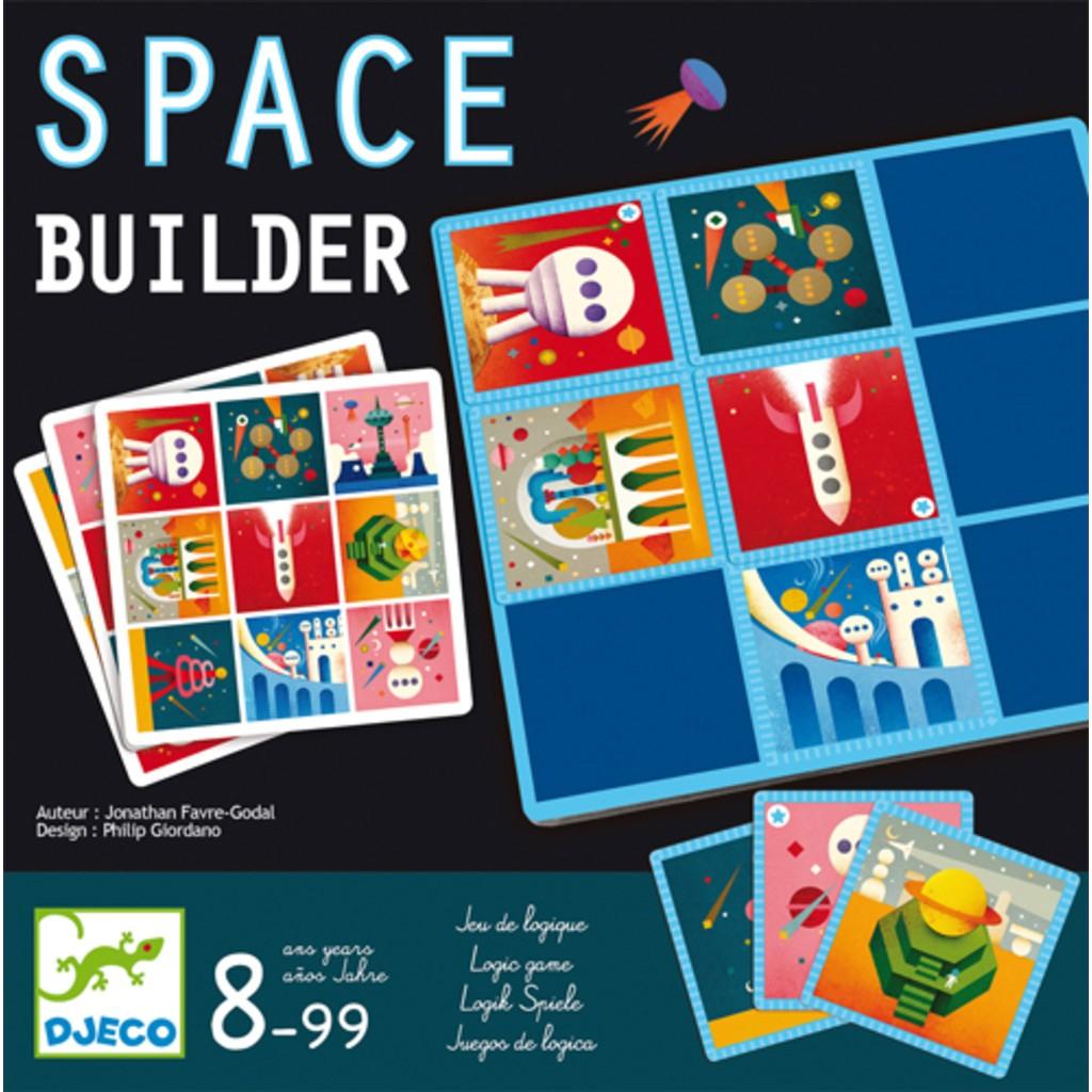 Djeco - Space Builder dedans Jeu Logique Enfant