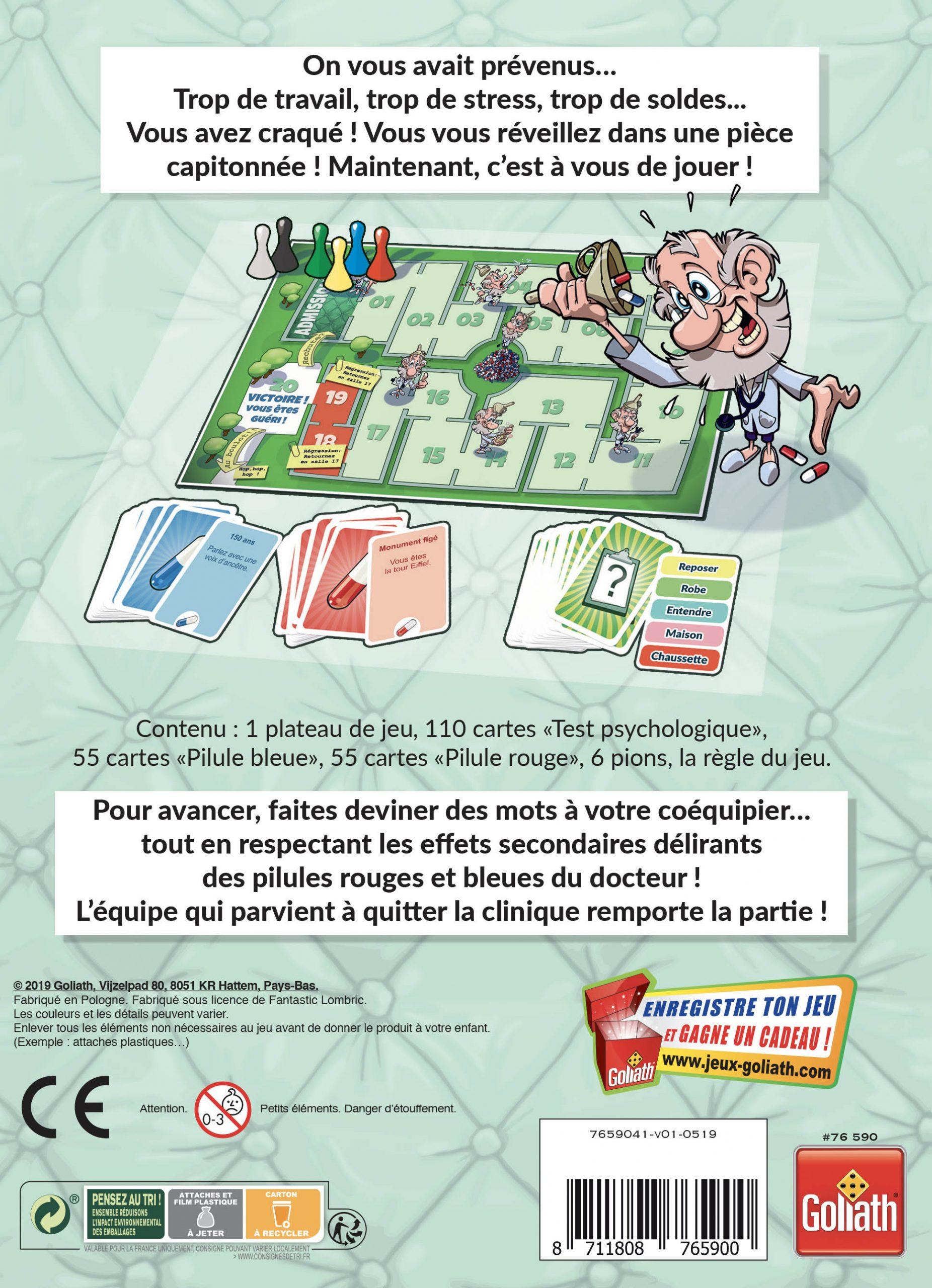 Docteur Pilule - Goliath France :goliath France dedans Jeu Carte De France