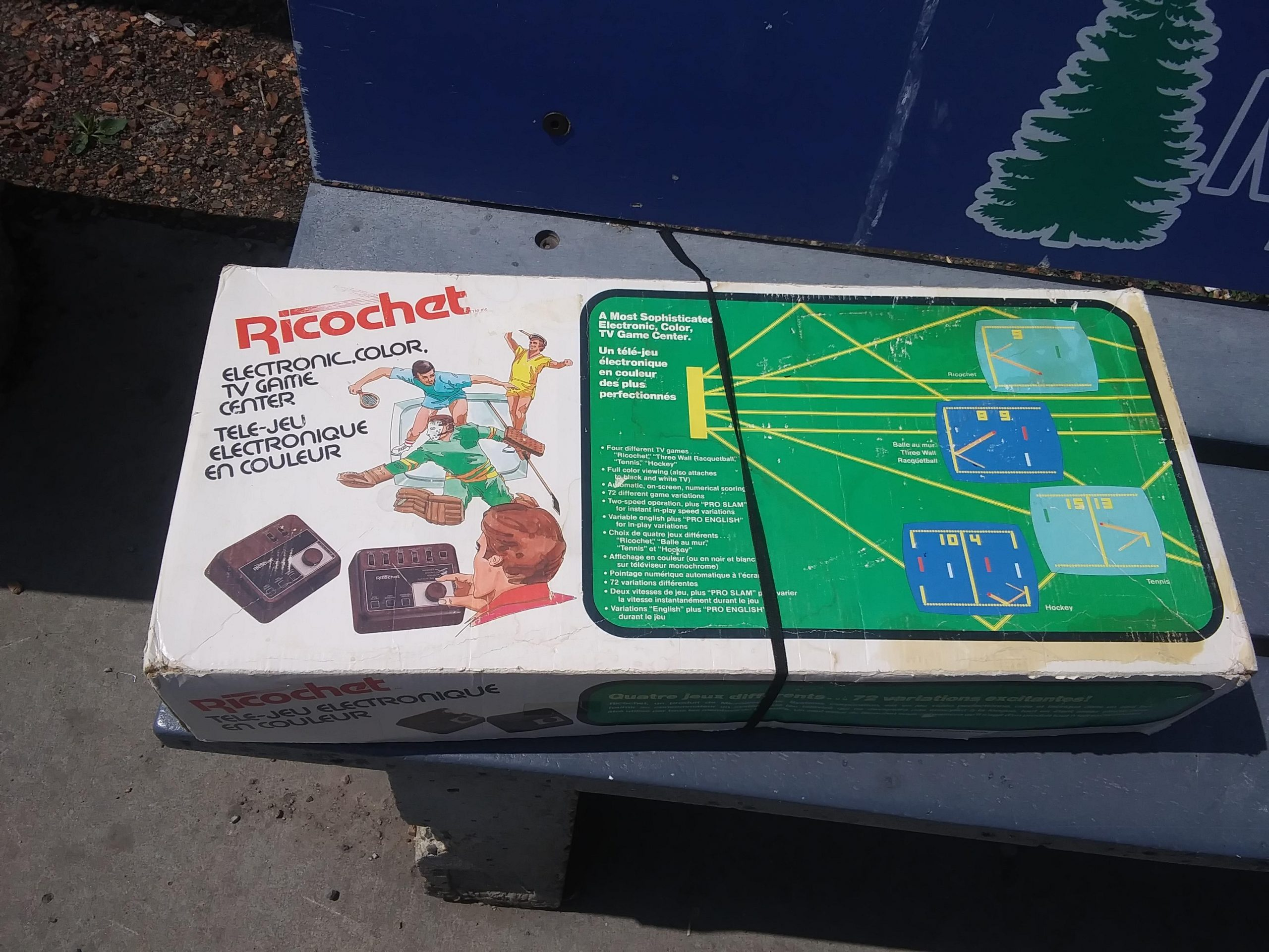 Does Anyone Know About The Ricochet Electronic,color,tv Game tout Ricochet Jeu