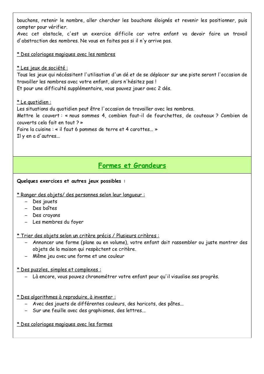 Domaine 4 Maths Par Emilie Blanchard - Fichier Pdf concernant Jeux Avec Des Nombres