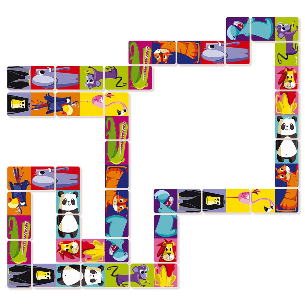 Dominos Jungle encequiconcerne Dominos À Imprimer