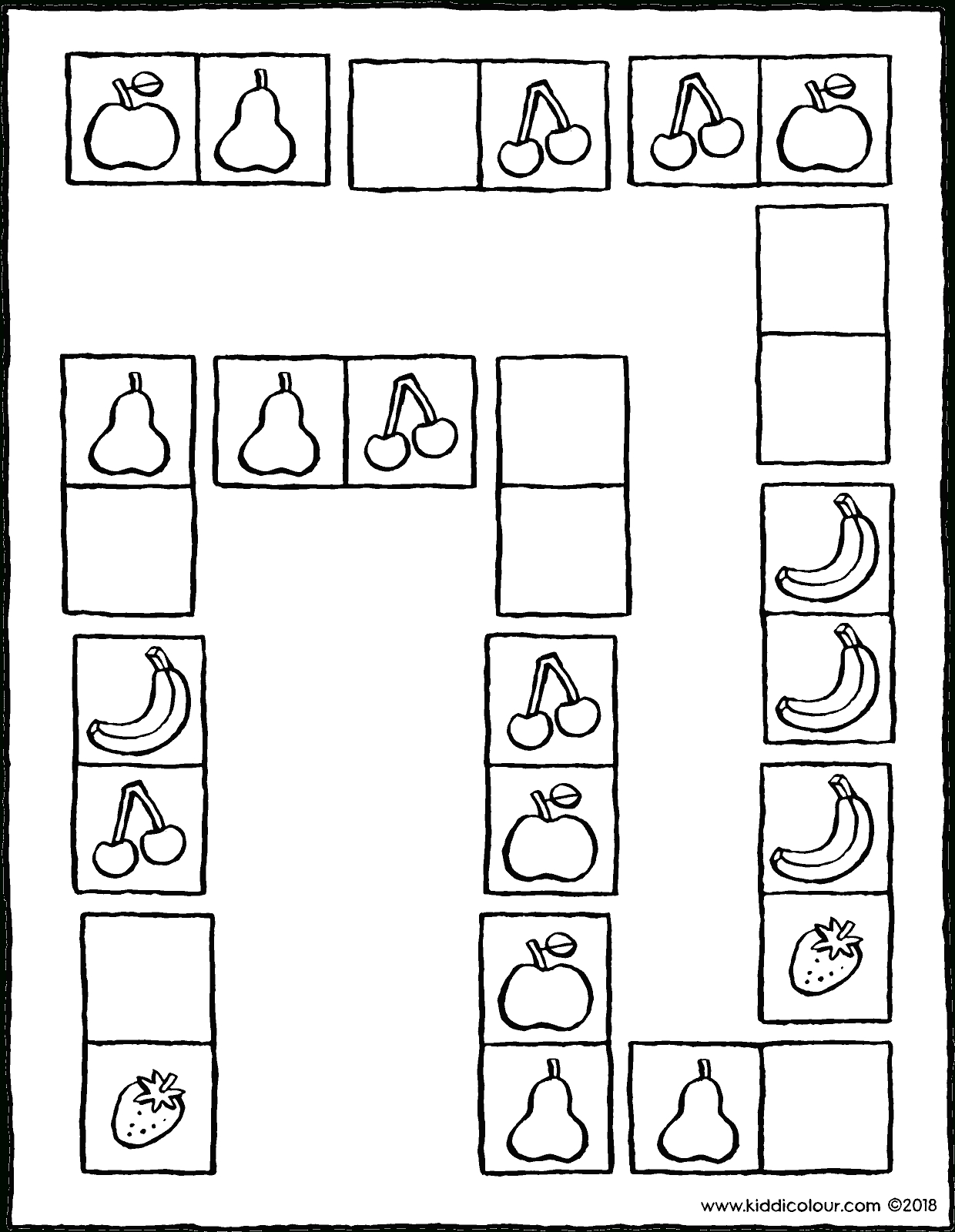Dominos - Kiddicoloriage concernant Dominos À Imprimer