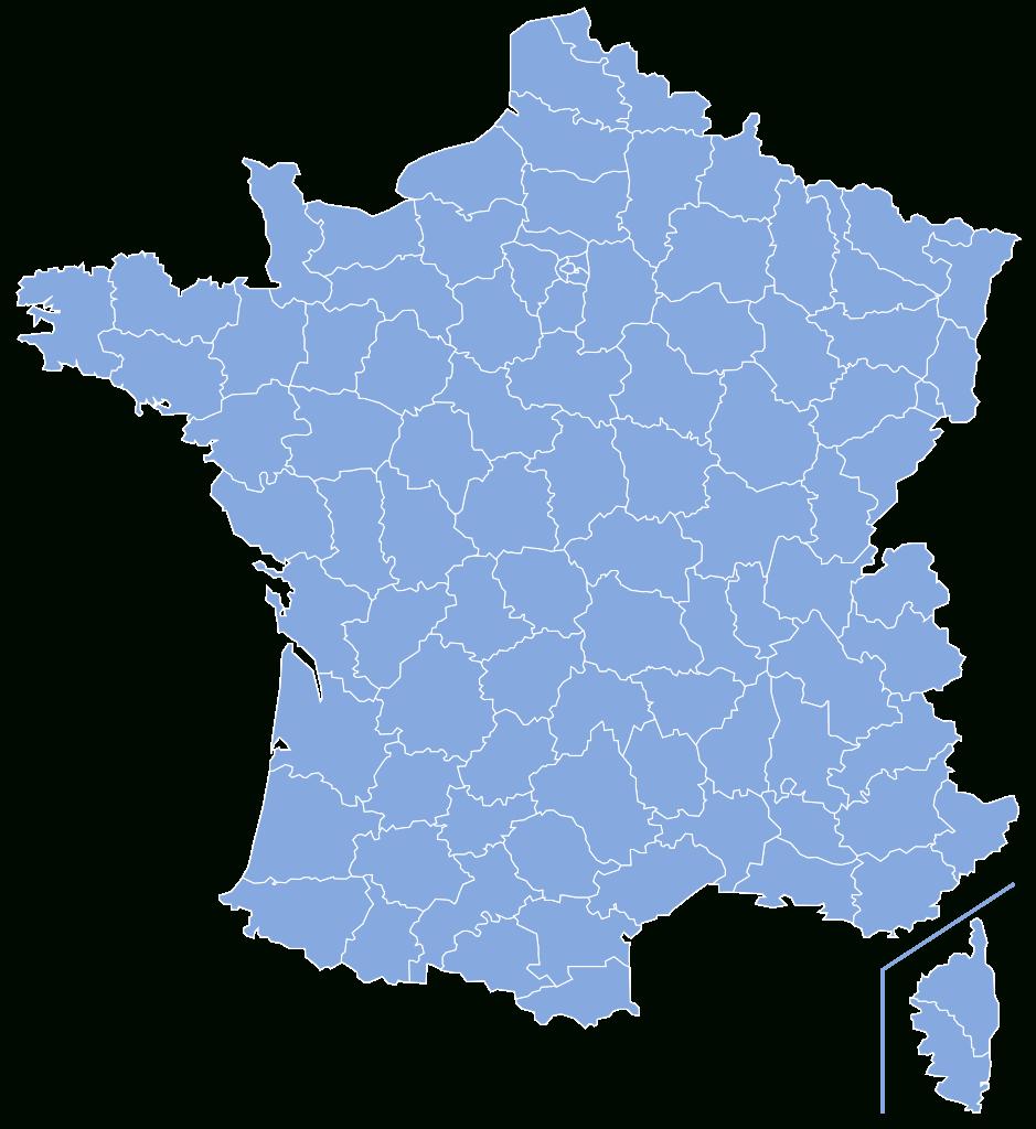 Dosya:départements De France-Simple.svg - Vikipedi avec Departement Francais Carte