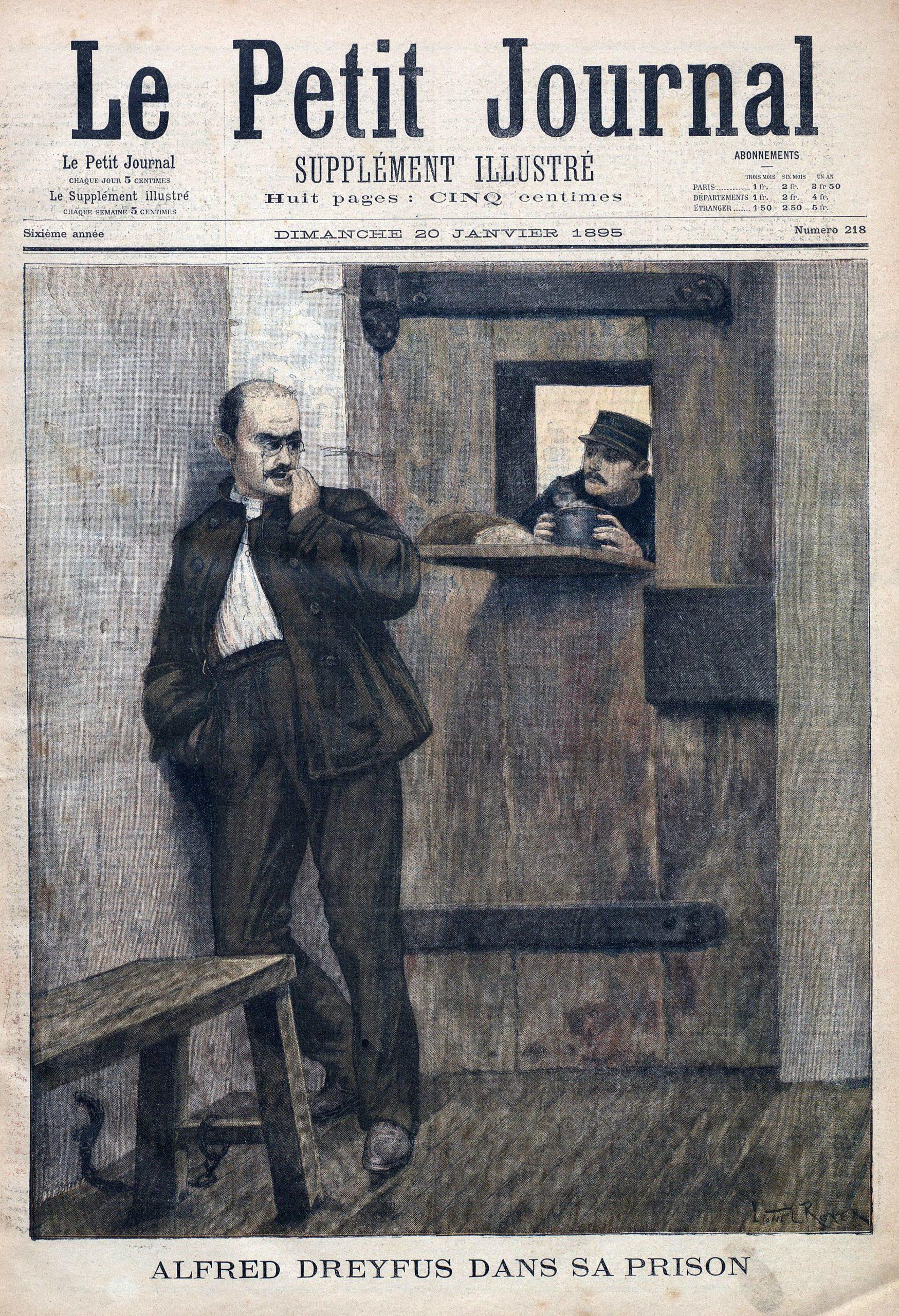 Dosya:dreyfus-In-Prison-1895 - Vikipedi tout Numéro Des Départements