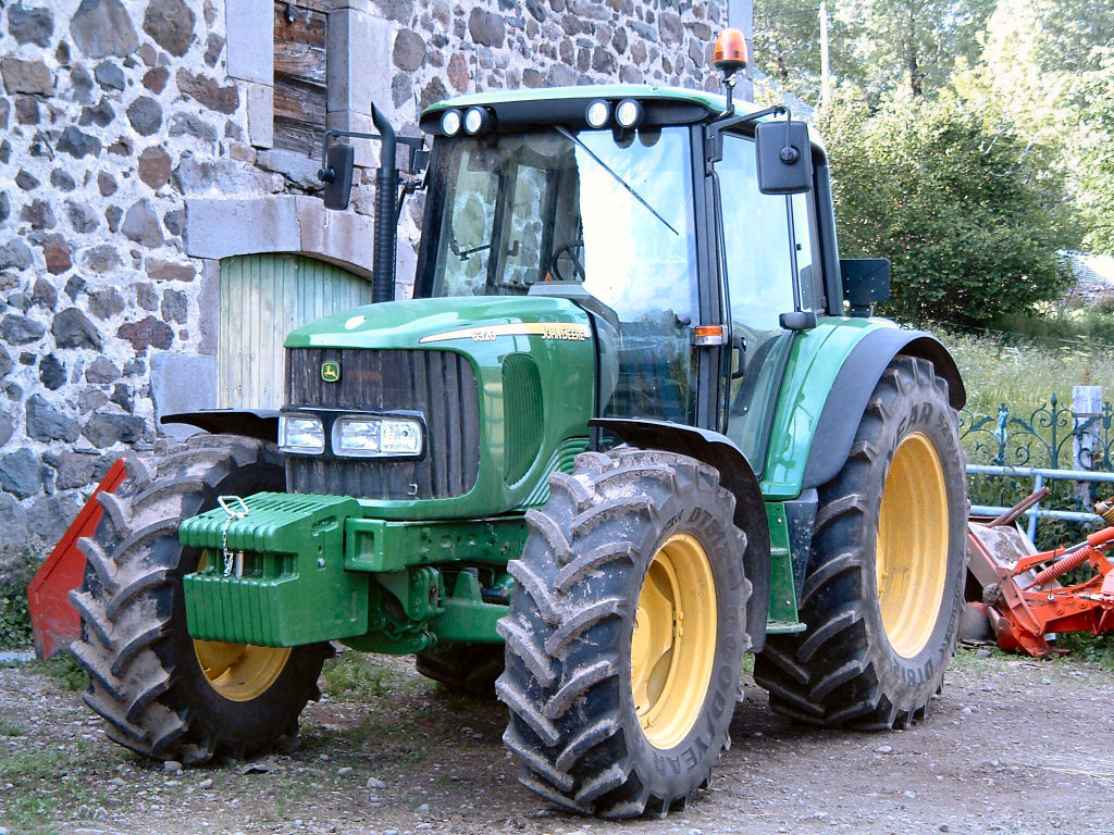 Dosya:john Deere 6320, Tracteur Agricole - Vikipedi encequiconcerne Image Tracteur John Deere