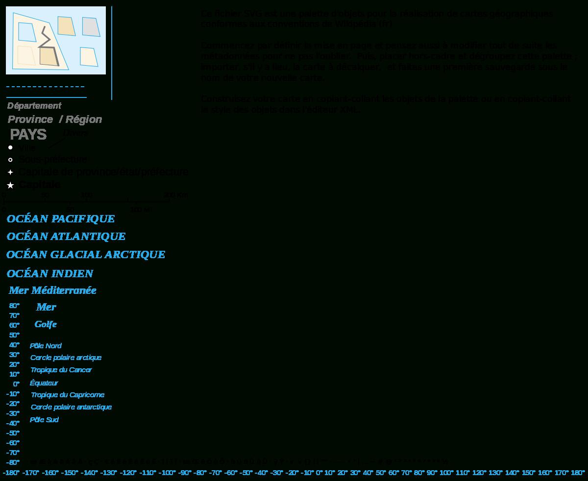 Dosya:palette Pour La Cartographie.svg - Vikipedi tout Carte Nouvelle Region