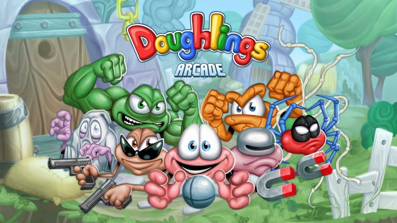 Doughlings : Arcade < Switch < Tests Complets < Tests De intérieur Casse Brique Gratuit En Ligne