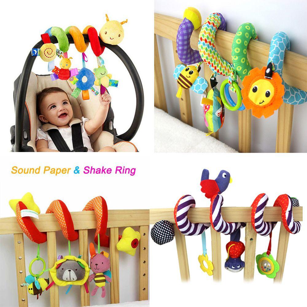 Doux Infantile Lit Lit Poussette Jouet Spirale Bébé Jouets pour Jouet Pour Voiture Bébé
