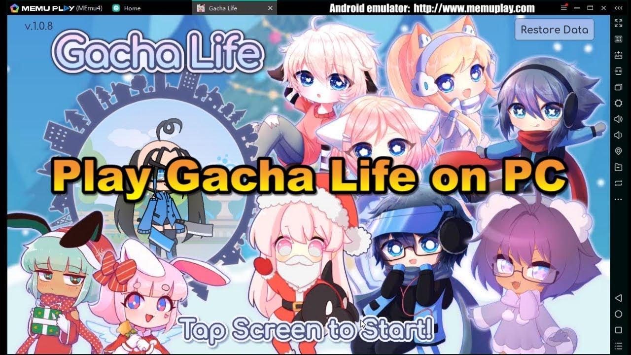 Download Gacha Life On Pc With Memu serapportantà Application Jeux Gratuit Pc