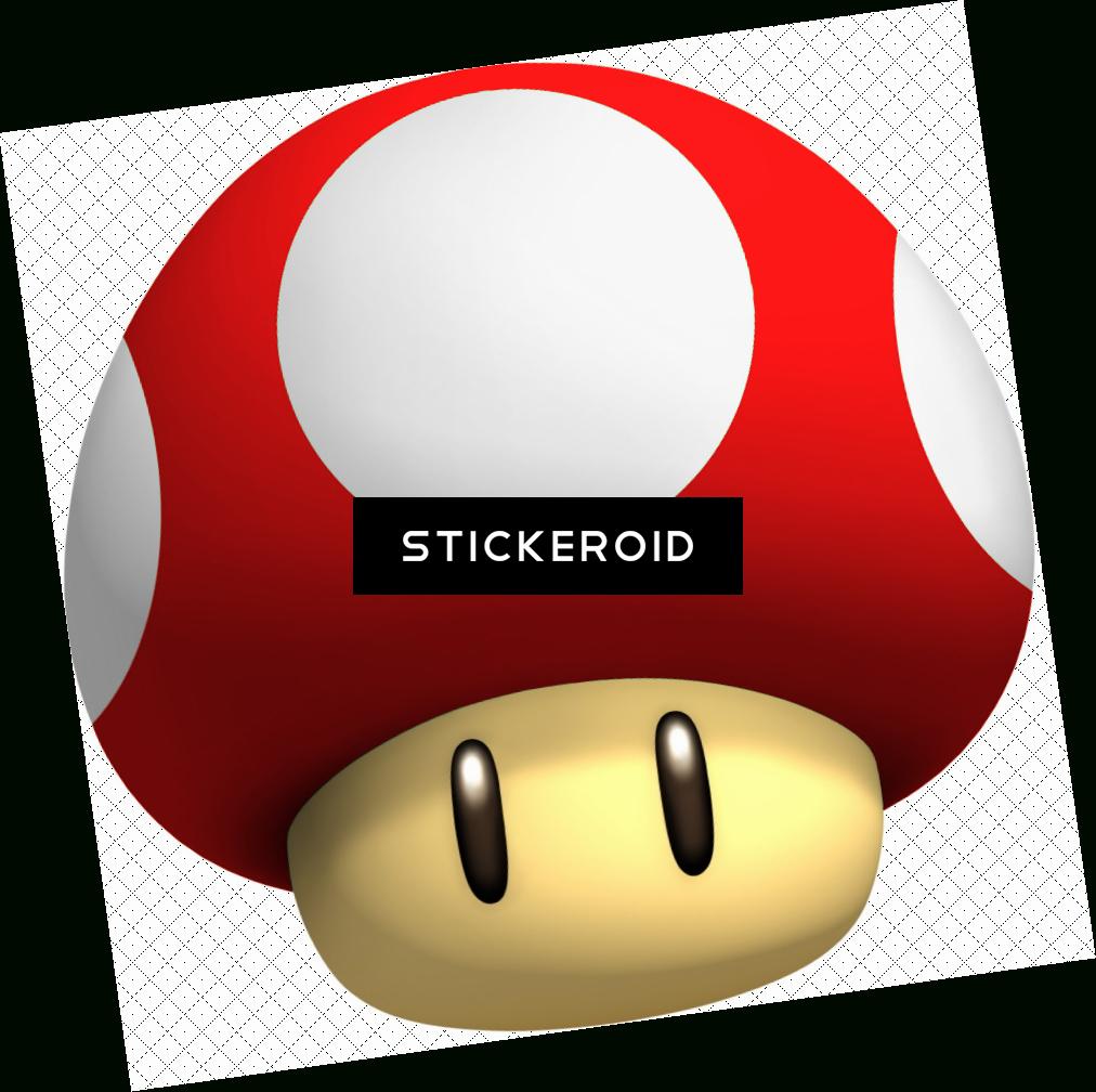 Download Hd Mario Bros - Dessin De Champignon De Mario dedans Dessiner Un Champignon