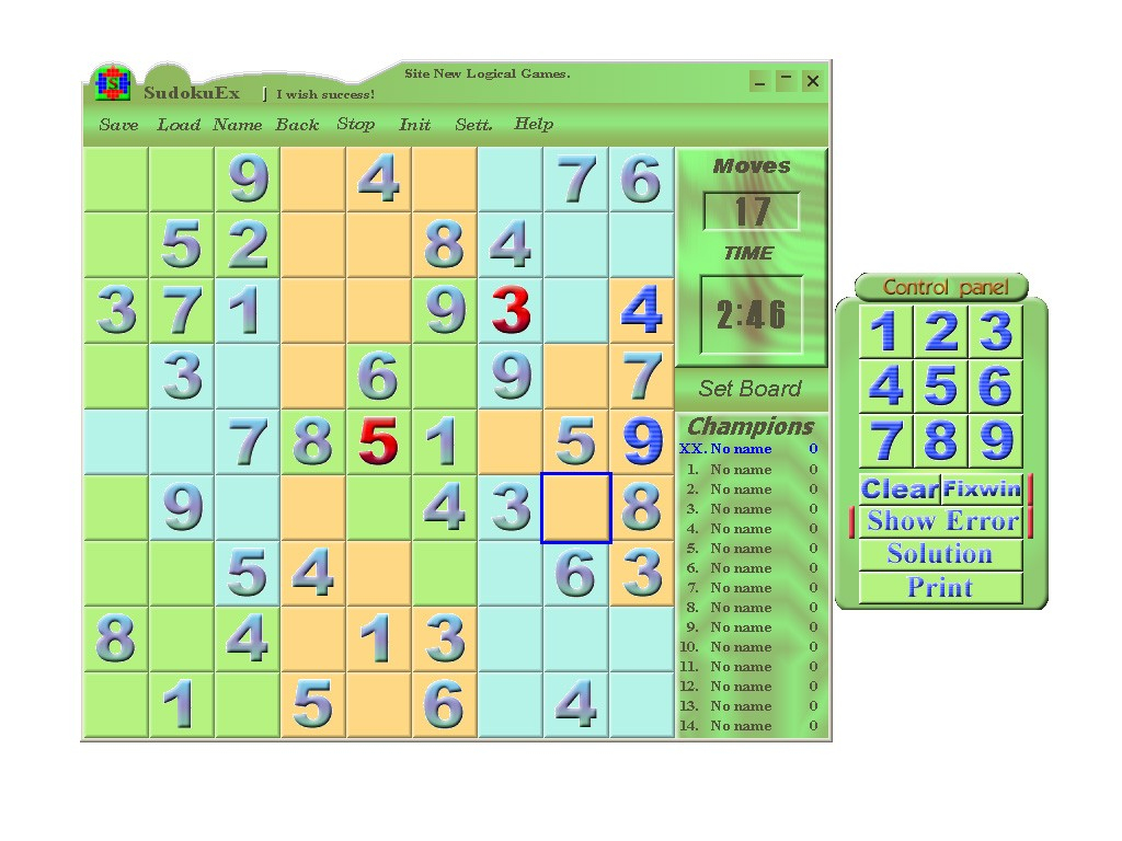 Download Mega Sudoku Games To Print Software: 2 Sudoku, Web intérieur Sudoku Gs