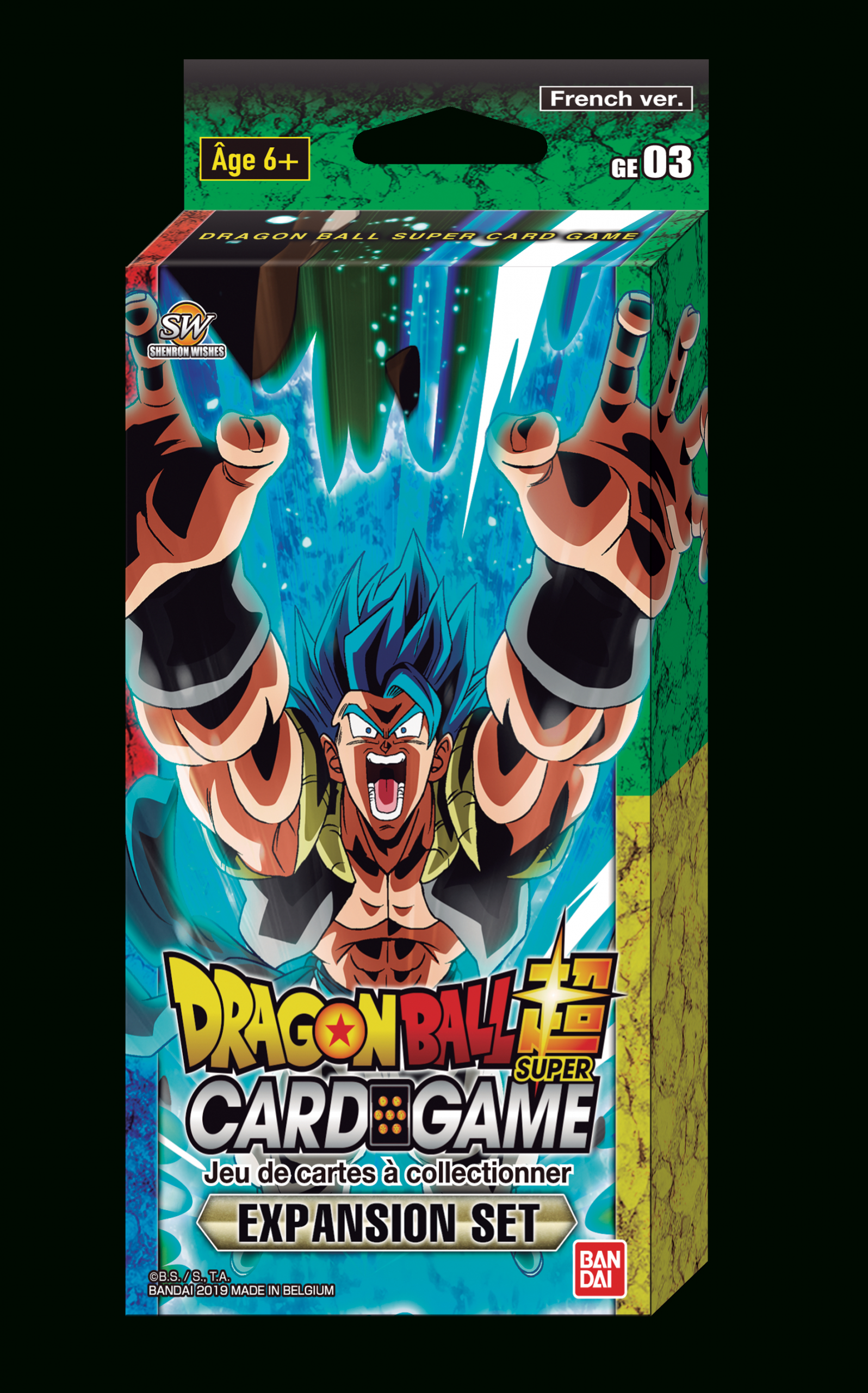 Dragon Ball: Protege Carte Dragon Ball Super Card Game avec Carte De Fra