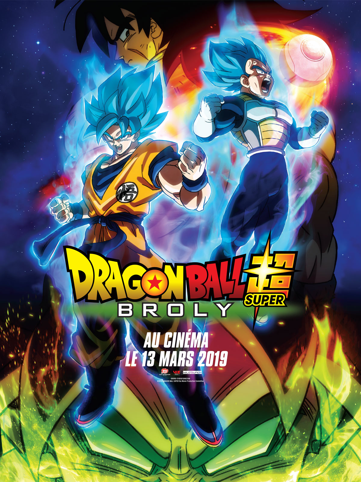 Dragon Ball Super: Broly - Film 2018 - Allociné destiné Dessin Animé De Dragon Ball Z