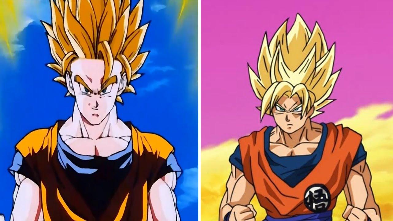 Dragon Ball Super Vs Dragon Ball Z Animation Comparison | 1995 Vs 2017 serapportantà Dessin Animé De Dragon Ball Z