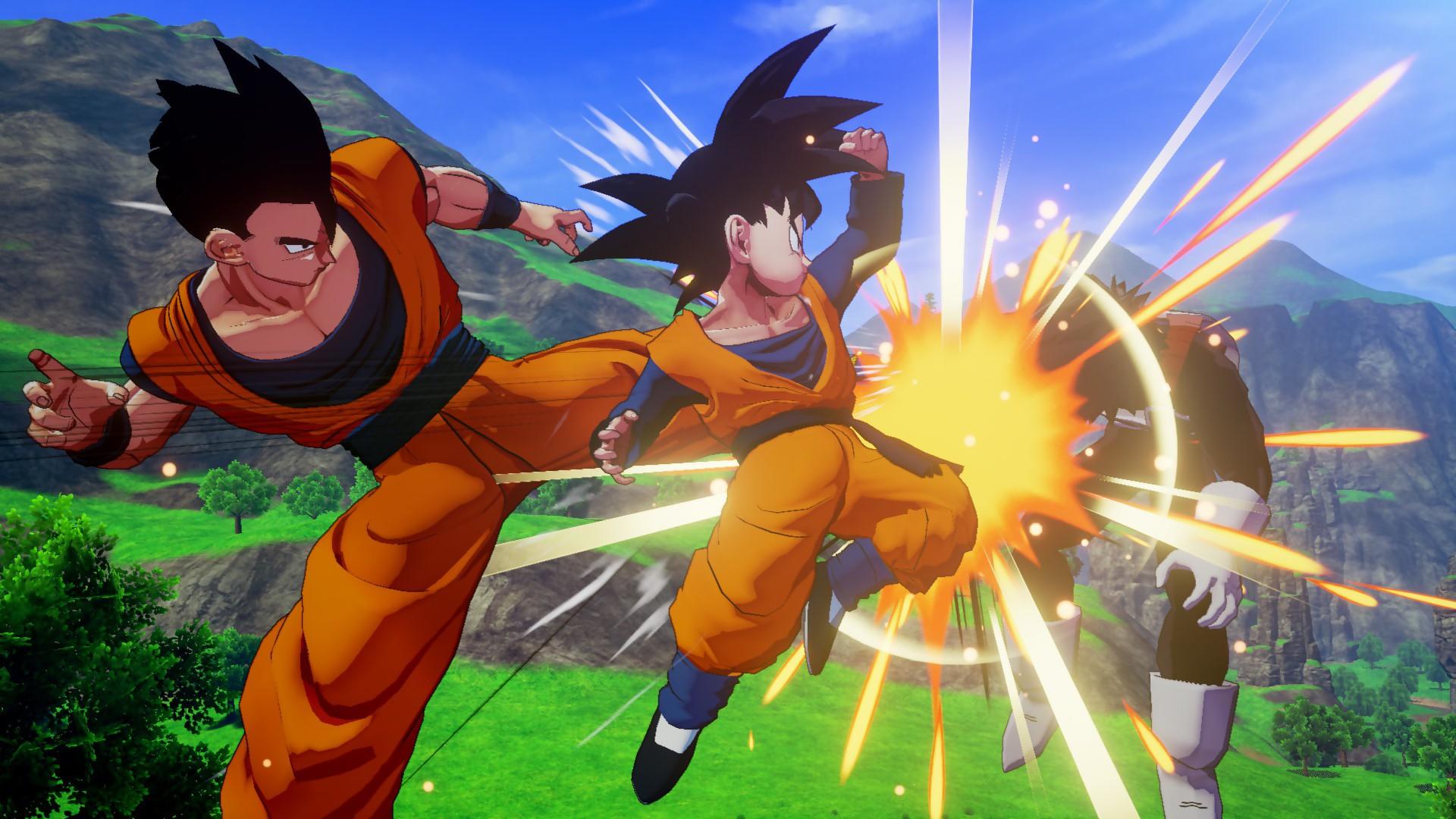 Dragon Ball Z Kakarot : Des Nouvelles Images Qui Cognent Sévère tout Dessin Animé De Dragon Ball Z