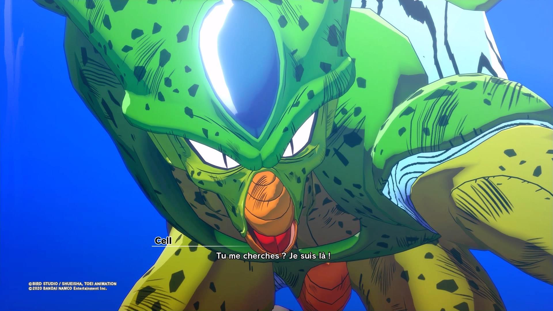 Dragon Ball Z Kakarot : Test Du Plus Immersif D'entre-Tous concernant Dessin Animé De Dragon Ball Z