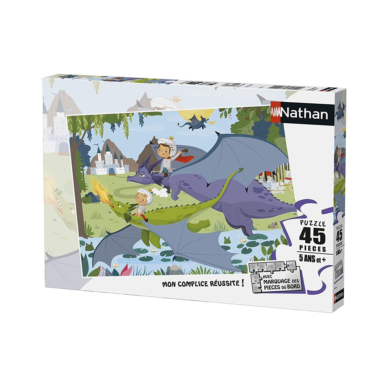 Dragons - 45 Pièces Nathan avec Puzzle 5 Ans En Ligne