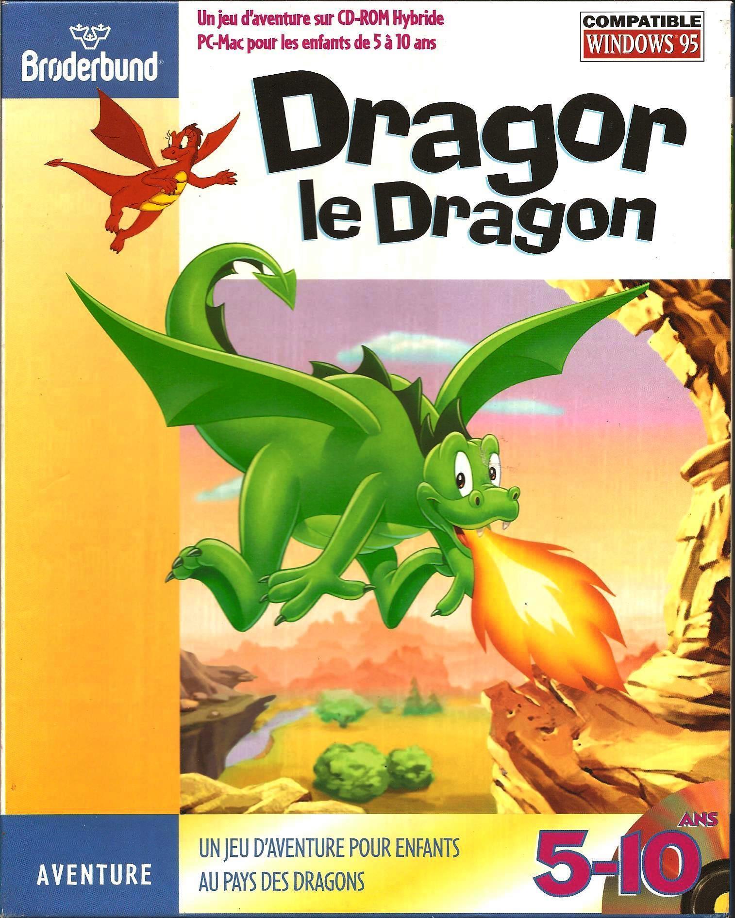 Dragor Le Dragon - Planète Aventure avec Jeux Pc Enfant