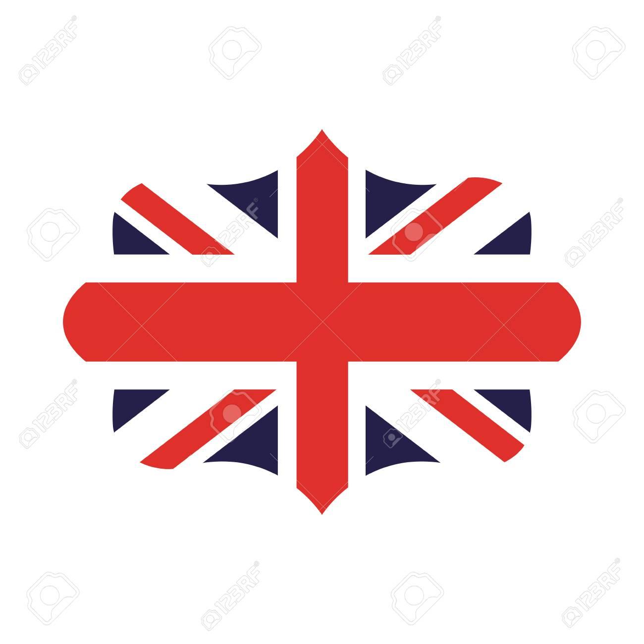 Drapeau Angleterre Isolé Icône Dessin Vectoriel tout Dessin De Angleterre