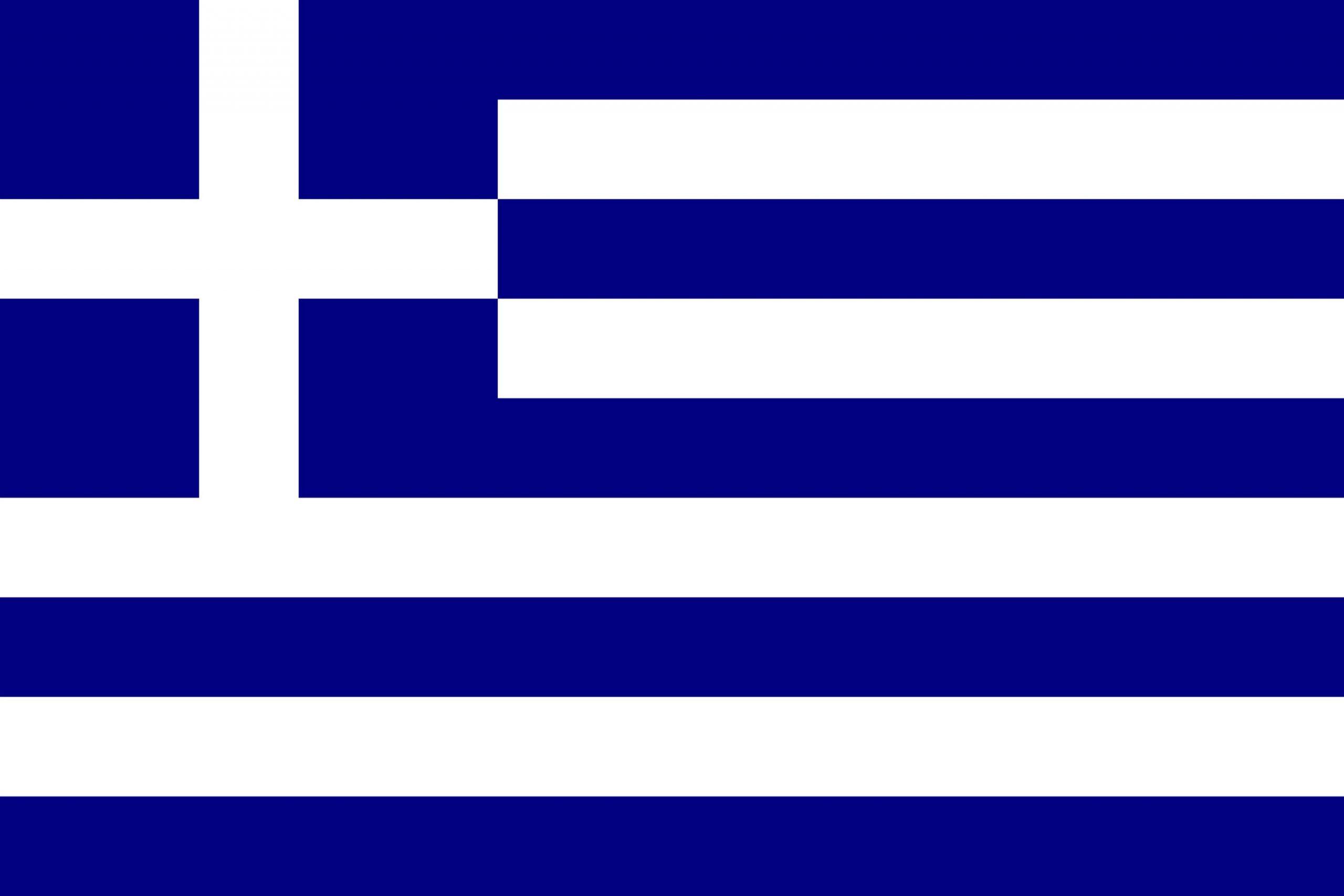 Drapeau De La Grèce, Drapeaux Du Pays Grèce intérieur Drapeaux Européens À Imprimer