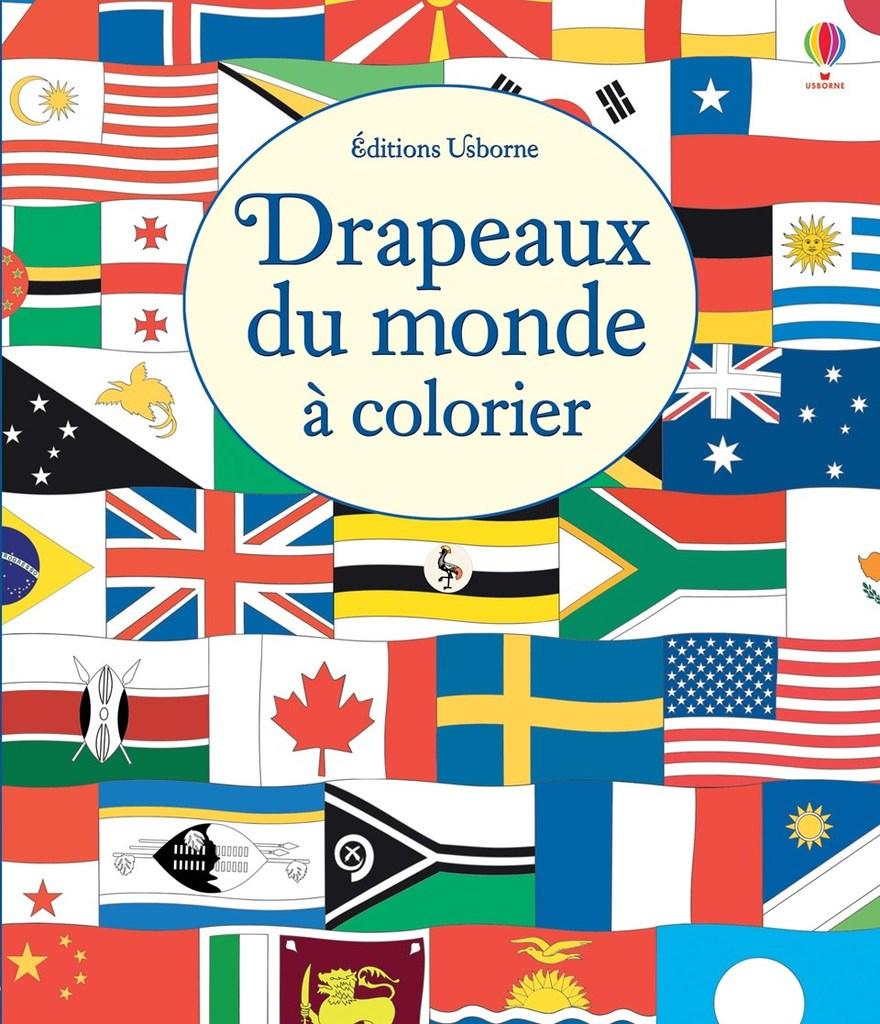 Drapeaux Du Monde À Colorier - tout Tous Les Coloriages Du Monde