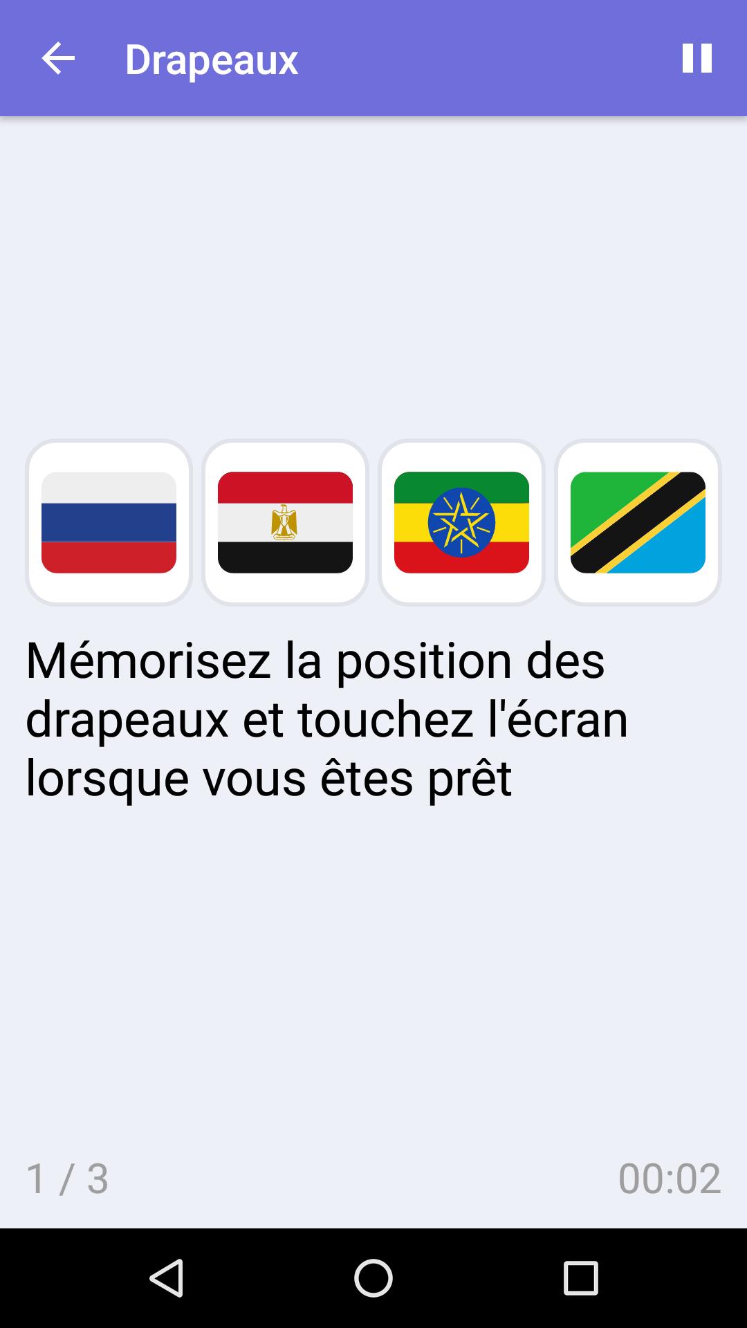 Drapeaux : Jeu De Mémoire Gratuit Pour Iphone & Android serapportantà Jeux Gratuit De Memoire