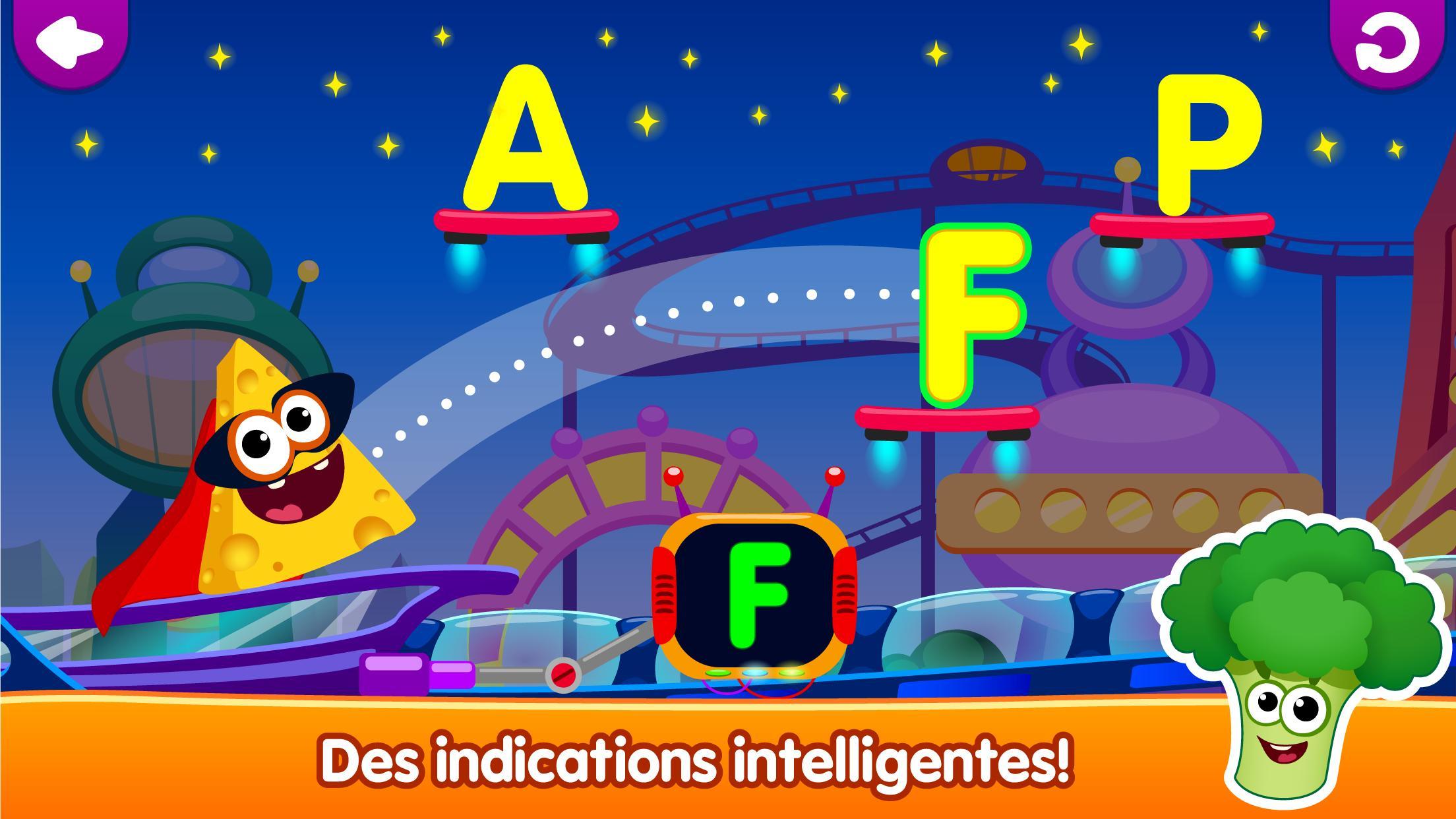 Drôle De Nourriture🥦 Jeux De Lettres Pour Enfants Pour serapportantà Jeux De Lettres Enfants