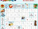 Du Côté Du Vocabulaire (2) : Des Petites Fiches « Mot : Mot intérieur Mots Fléchés Facile À Imprimer
