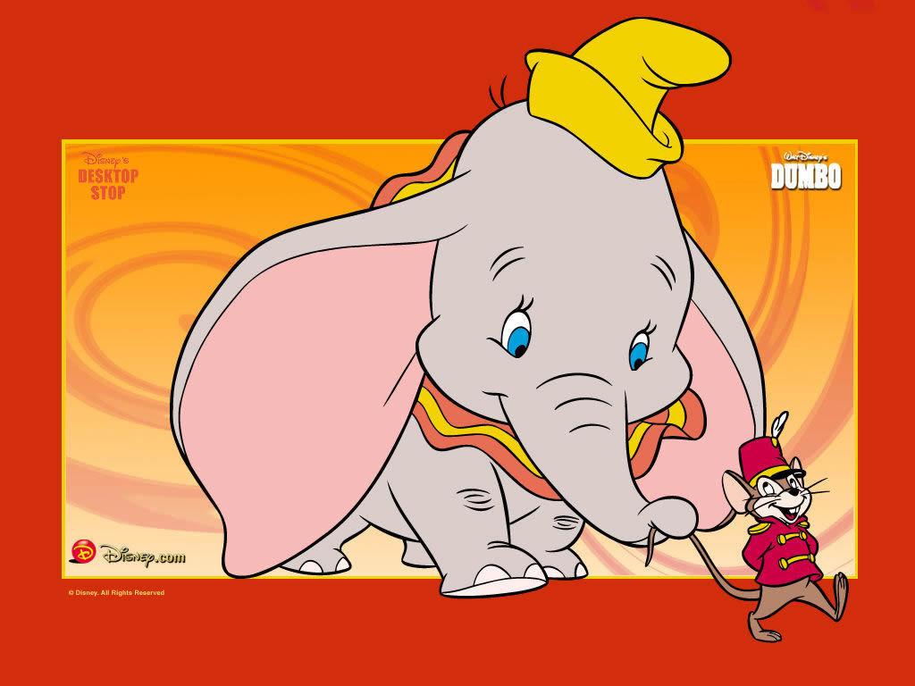 Dumbo Fond D'écran - Dumbo Fond D'écran (5776690) - Fanpop pour Dessin Dumbo