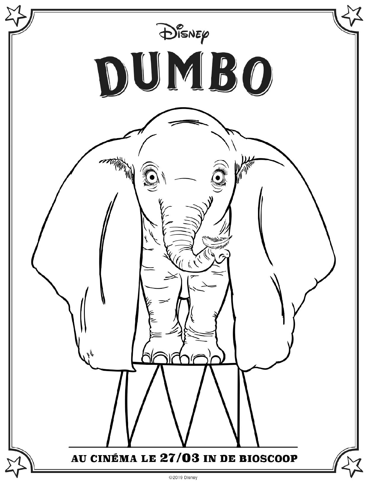 Dumbo | Petitweb.lu à Dessin Dumbo