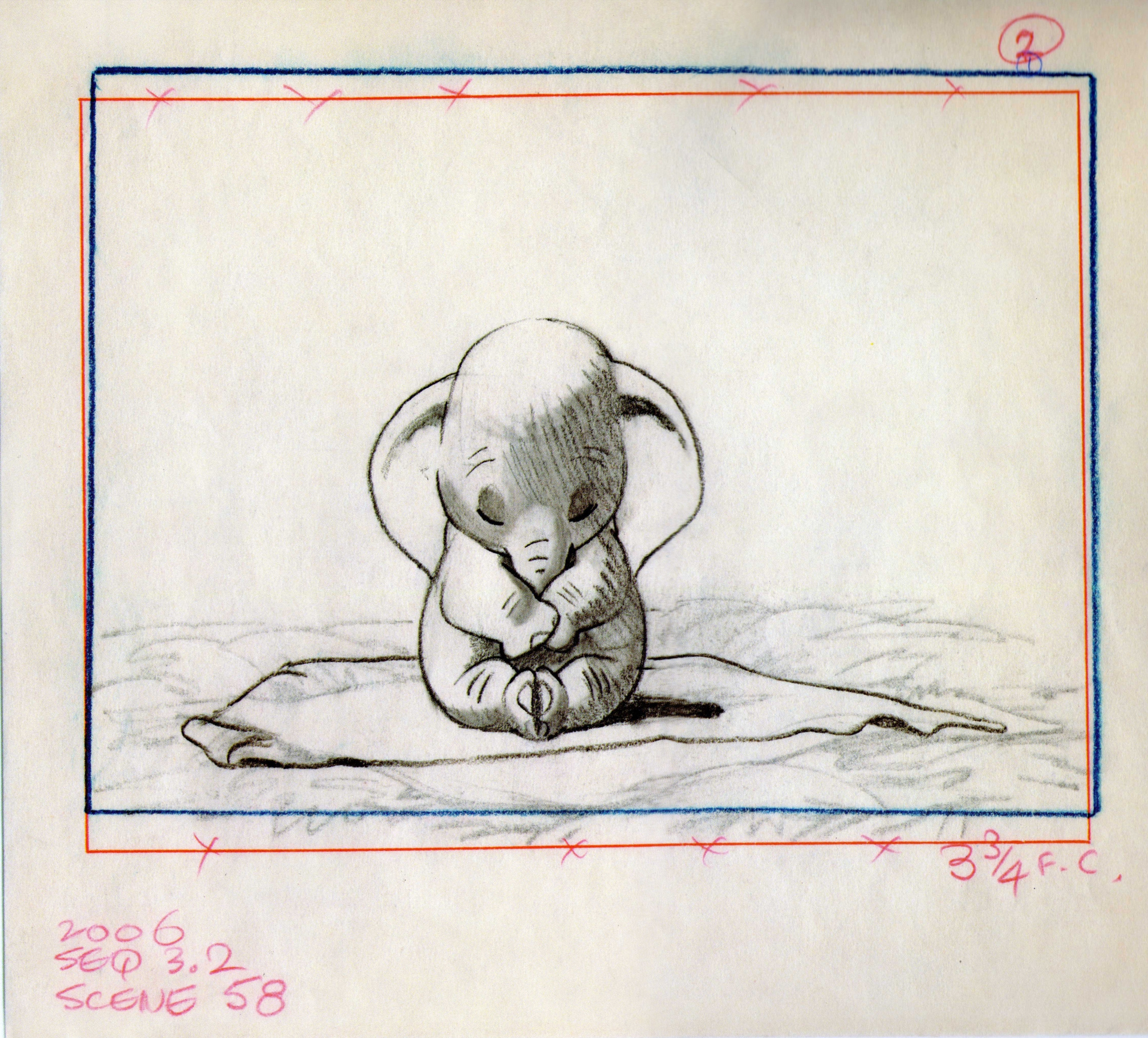 Dumbo - The Art Of Disney concernant Dessin Dumbo