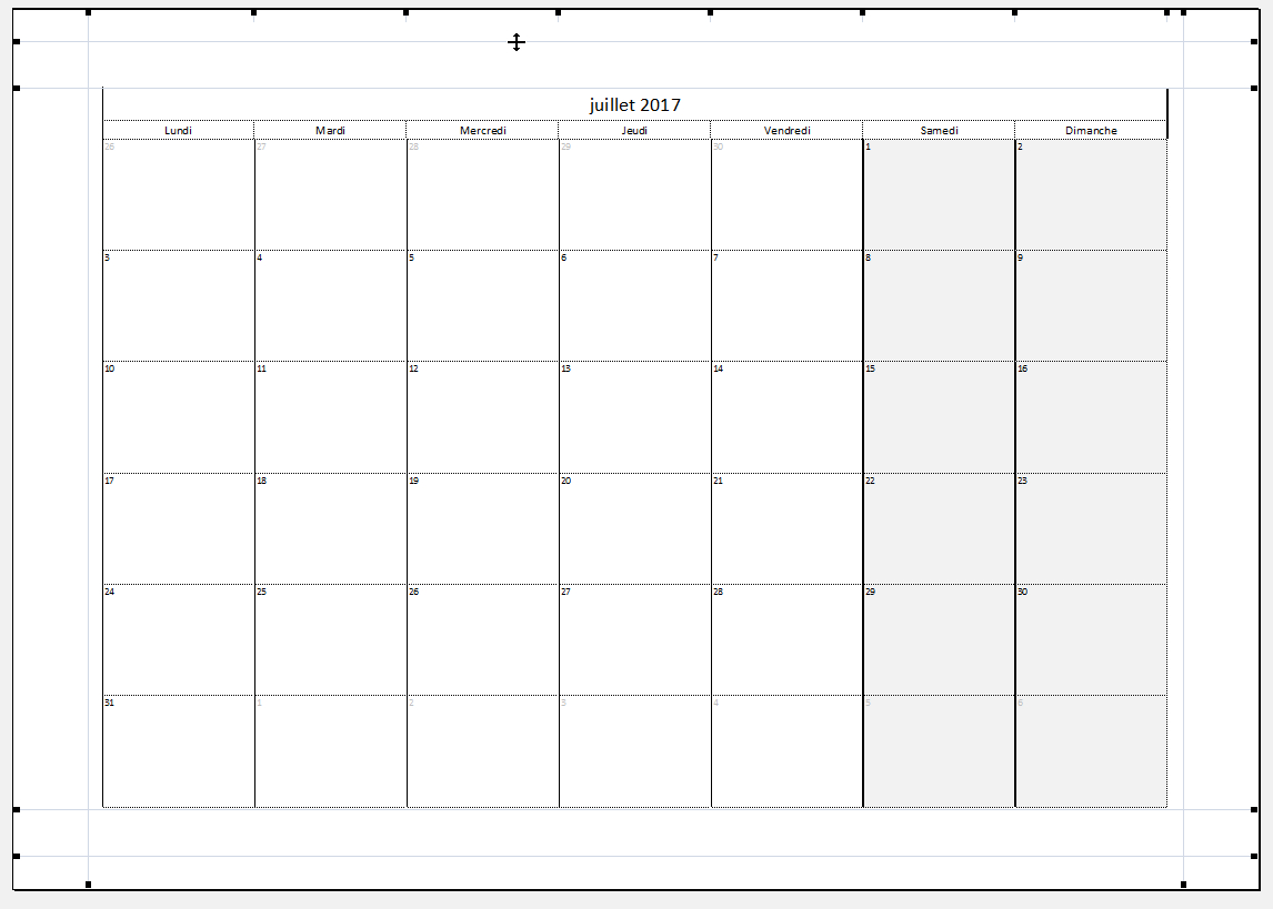 Dvp Excel - Calendrier Perpétuel destiné Calendrier Perpétuel À Imprimer