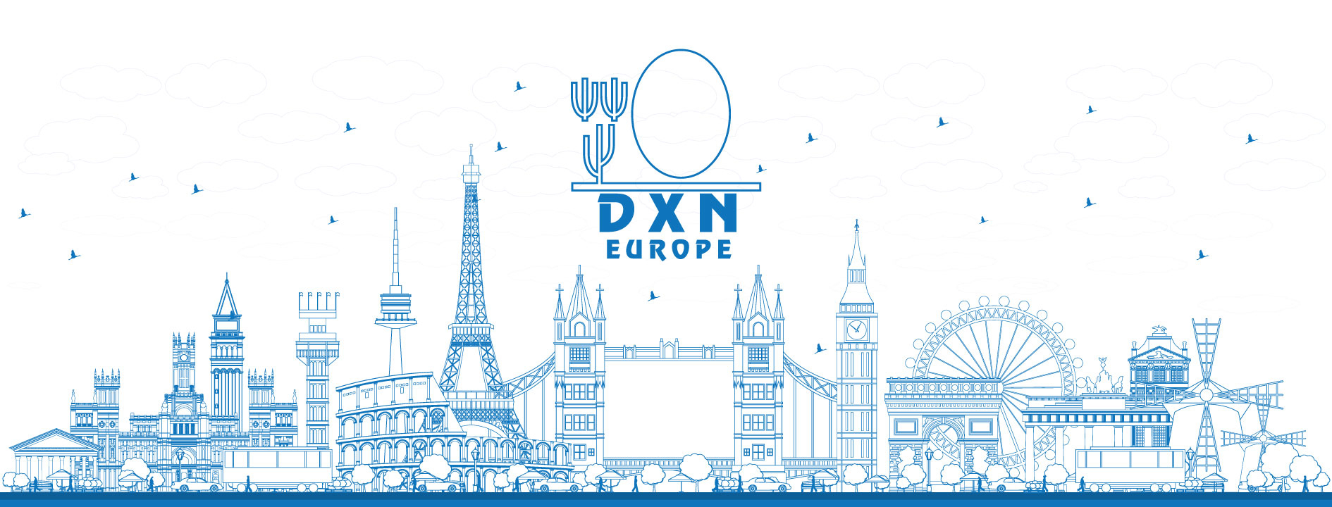 Dxn Europe Official Site avec Carte D Europe 2017