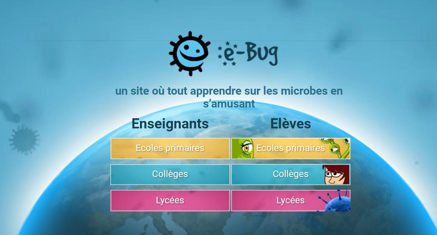 E-Bug, Un Site Ludique De Prévention Santé Et Hygiène - Thot à Jeux Ludique En Ligne