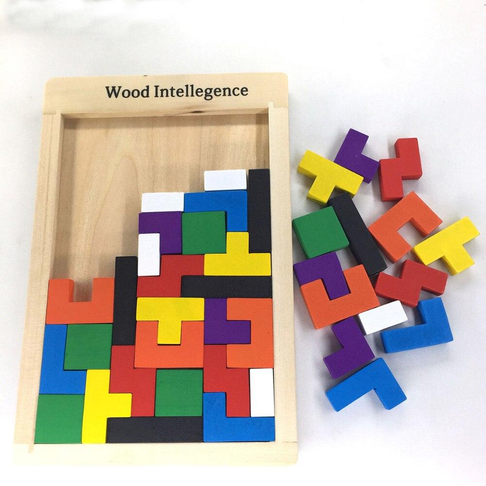€13.99 |Puzzles Magique Tangram Enfants En Bois Jeu Éducatif Lol Passe  Temps Enfant Puzzle Tetris Cubes Puzzles Enfants Jouet Enfants Garçons à Tangram Enfant