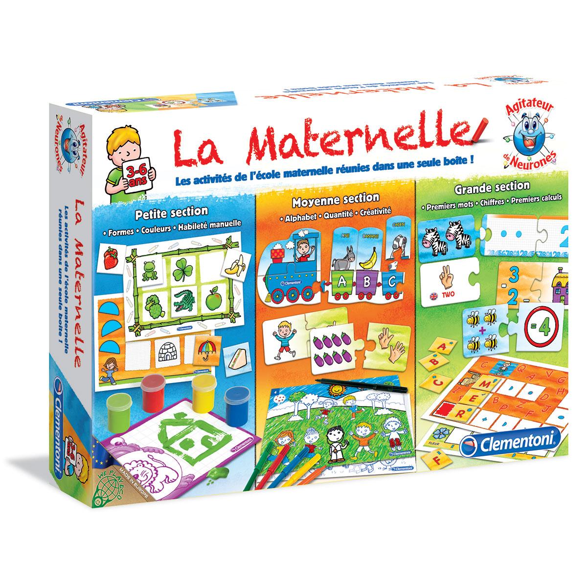 ᐅ Jeu Éducatif 3 Ans, Comment Acheter Le Meilleur. 2019 ? destiné Jeux Educatif Maternelle Moyenne Section