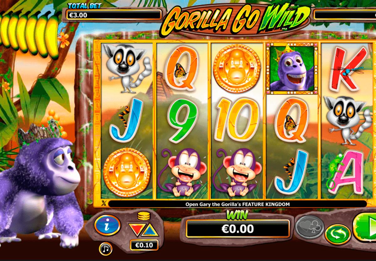 ᐈ Gorilla Go Wild Machine A Sous Gratuit | Slot En Ligne De avec Jeux De Gorille Gratuit