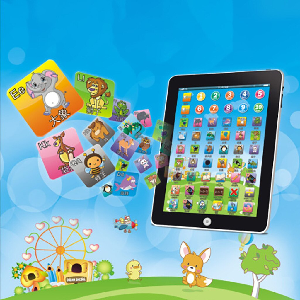 €2.1 35% De Réduction|Enfants Tablette Jouet Lecture Machine  D'apprentissage Électronique Drôle Jeu Interactif Début Jouets Éducatifs  Pour Enfants serapportantà Jeu Interactif Enfant