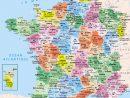 ⇒ Liste Des Départements Français : √ Rmations dedans Carte De France Avec Département À Imprimer