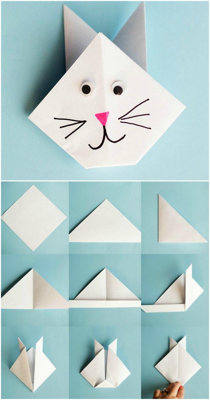 ▷ 1001 + Idées De Bricolages Pour Apprendre L'art De Pliage dedans Pliage Papier Enfant