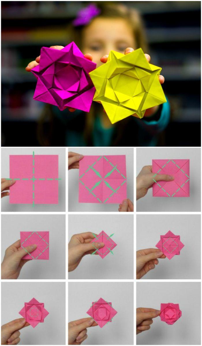 ▷ 1001 + Idées De Bricolages Pour Apprendre L'art De Pliage destiné Pliage Papier Enfant