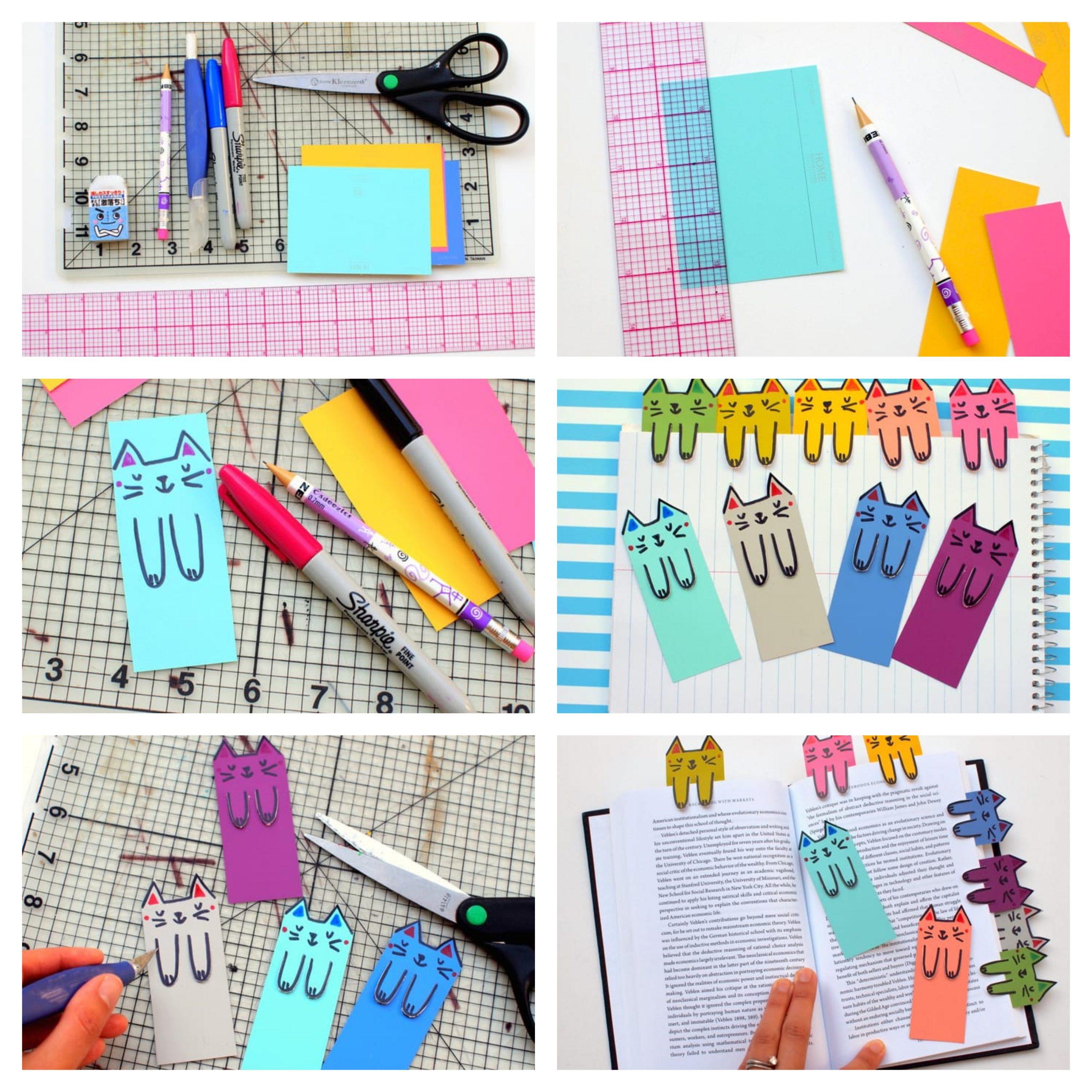 ▷ 1001 + Idées Pour Faire Un Marque-Page Origami Et Autres intérieur Modele De Marque Page A Imprimer