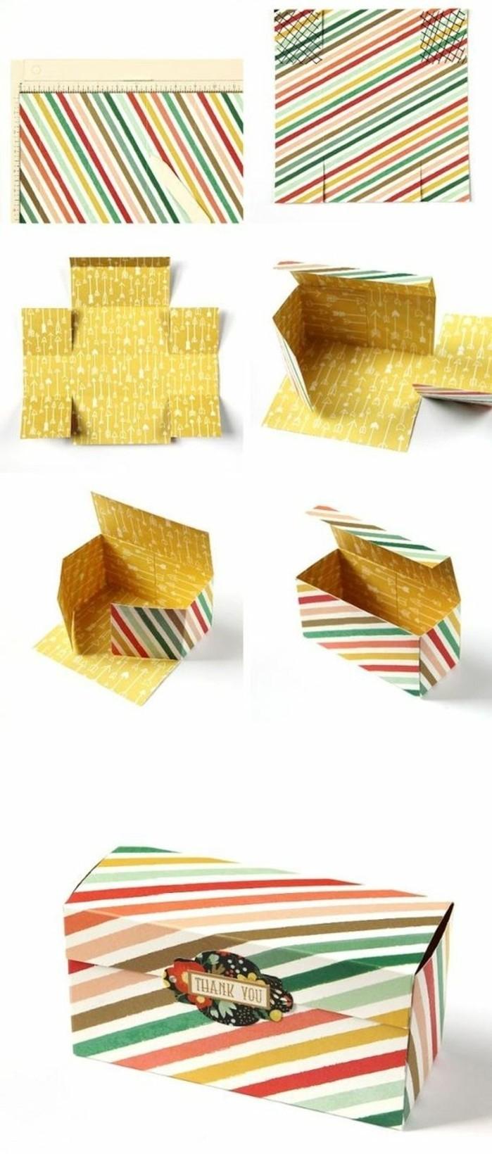 ▷1001+ Idées Comment Faire Une Boîte En Papier dedans Patron Pour Boite En Carton