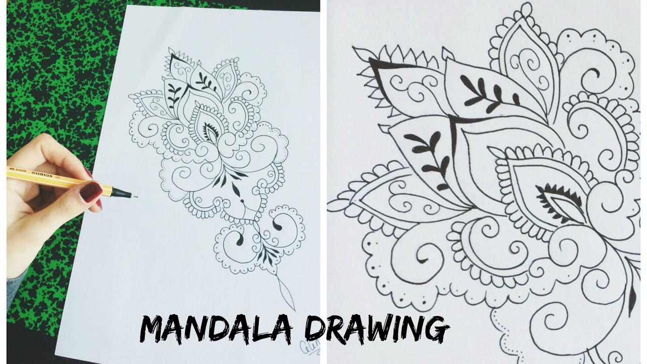 ♦ Vidéo Dessin Mandala concernant Dessiner Un Mandala