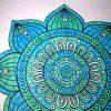 """❦Présentation"""" Coloriage Anti-Stress"""" Pour Adulte N°1: Esprit Mandalas.  Partie 3❦ concernant Mandala À Colorier Adulte"""