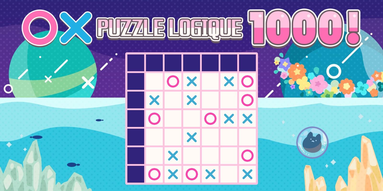 〇×Puzzle Logique 1000! | Jeux À Télécharger Sur Nintendo pour Je De Logique