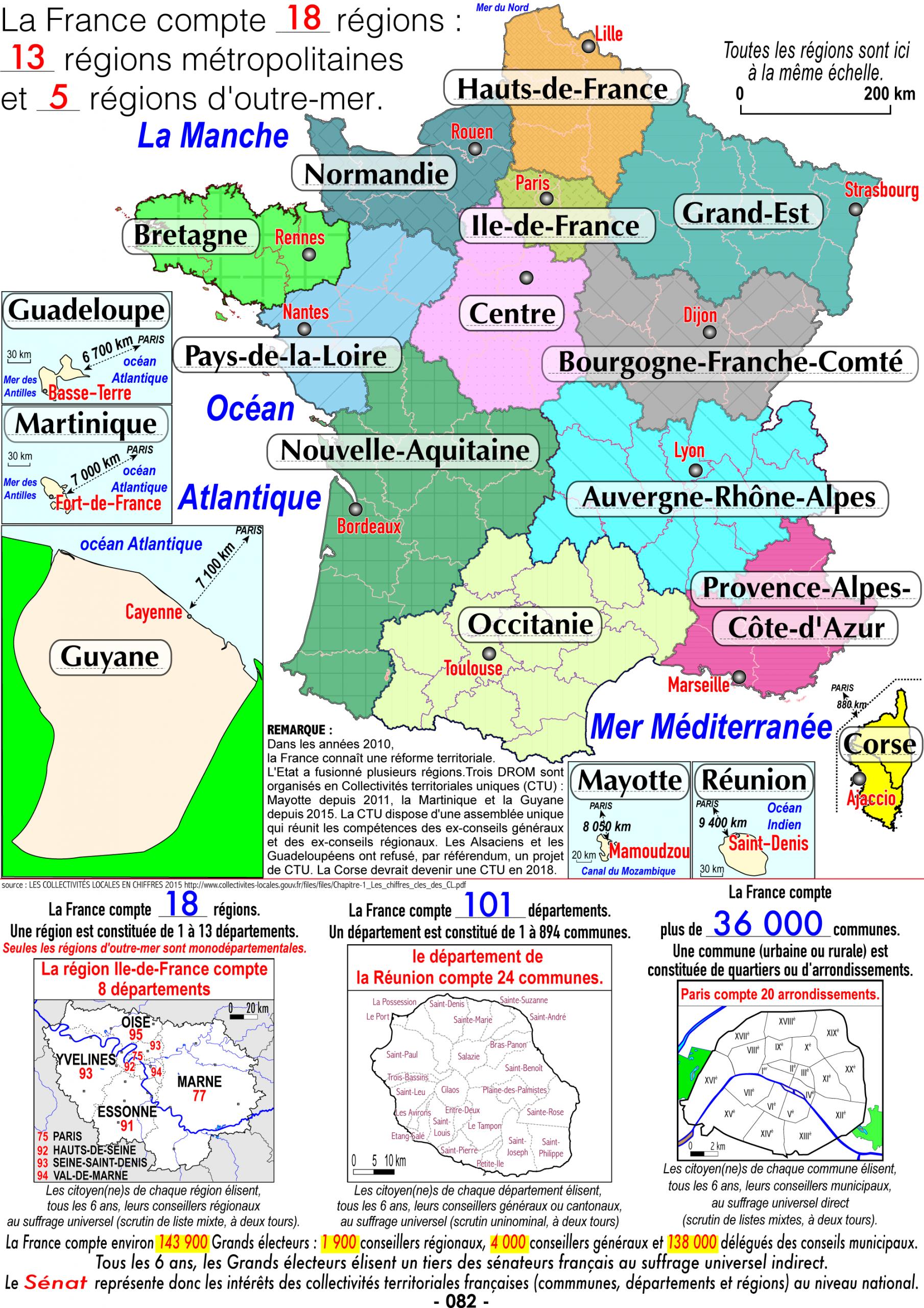E7125Db Carte France Region   Wiring Resources avec Region De France 2018
